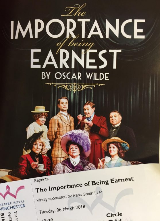 an analysis of the mask of manners in oscar wildes the importance of being earnest Written assignment 4 analysis of humor in the importance of being earnest the  oscar wilde mocked  being earnest, satirises the manners and .